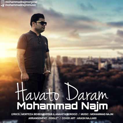 دانلود آهنگ هواتو دارم از محمد نجم