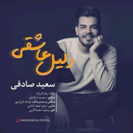 آهنگ جدید سعید صادقی به نام دلیل عاشقی
