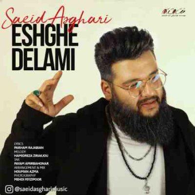 آهنگ جدید سعید اصغری به نام عشق دلمی