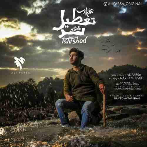آهنگ جدید علی پارسا به نام تعطیل شد