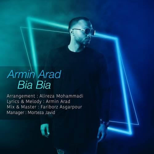 آهنگ جدید آرمین آراد به نام بیا بیا