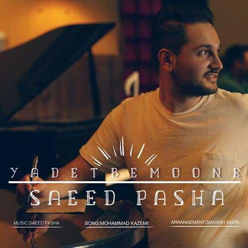 آهنگ جدید سعید پاشا به نام یادت بمونه