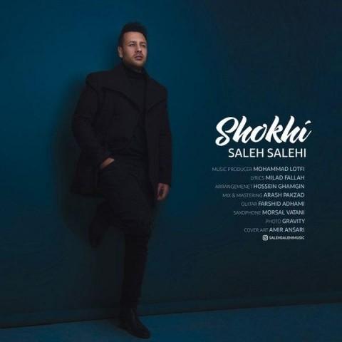 آهنگ جدید صالح صالحی به نام شوخی