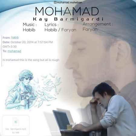 آهنگ جدید محمد محبیان به نام کی برمیگردی